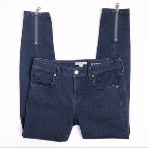 Burberry Brit Bexton Skinny Zipper Ankle Jeans 28
